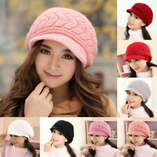 Winter Warm Baggy Beanie Knit Crochet Hat Slouch Ski Cap Hot Women Ladies Beret