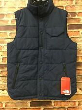 NWD The North Face Men's Patrick's Point Quilted Vest Navy SZ SM (bm)