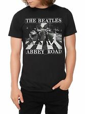 "The Beatles ""Abbey Road"" RARE Rock Band T-Shirt S-2XL Licensed & Official"