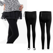 Thick Comfortable Maternity Full Ankle Length/ Stirrup Style Leggings PREGNANCY