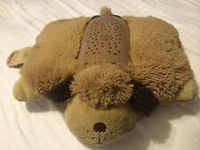 Pre Owned Pillow Pets Dog Dream Lites brown/tan