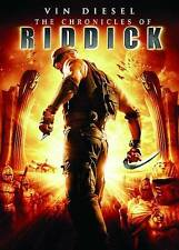 The Chronicles of Riddick & Pitch Black Vin Diesel DVD 2 Movie Collection