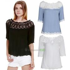 Fashion Women Sexy Off Shoulder Casual Short Sleeve Slim T-Shirt Top Blouse New
