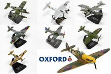 1:72 Scale Diecast Plane Aircraft Fighter By Oxford Diecast. #2 Choose Model(s)