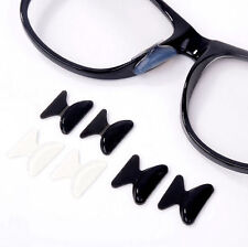 5 Pair Nose Pad Anti-Slip Silicone Eyeglass Sunglass Spectacles Stick On Hot