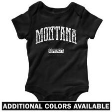 Montana Represent One Piece - Baby Infant Creeper Romper NB-24M - Gift Bobcats