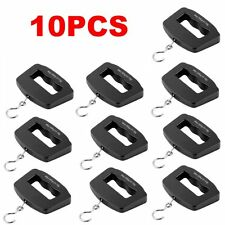 10PCS Portable 50kg/10g Digital LCD Electronic Luggage Hanging Weight Scale GK