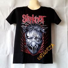 SLIPKNOT New Mask Heavy Metal Rock Band T-shirt Skull Ghost Death Tee