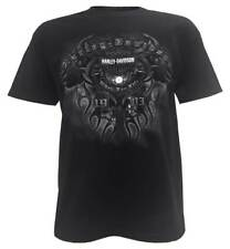 Harley-Davidson Men's Night Flight Bar & Shield Short Sleeve T-Shirt, Black