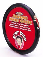 Betty Boop Auto Steering Wheel Cover Car Truck SUV Vehicle Accessory Women Helm
