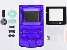 Game Boy Color [GBC] Replacement Case/Shell/Housing [Transparent Purple]