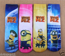 Lot Popular Cartoon Kids Socks 3 Size Cotton Warm winter Knee-Highs socks C486