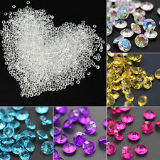 2000X 4.5mm Wedding Decoration Scatter Table Faux Diamond Acrylic Confetti Beamy