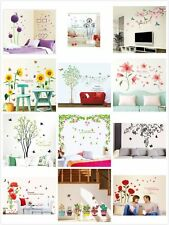 Family Flowers Tree DIY Removable Art Vinyl Wall Stickers Decal Mural Home Decor