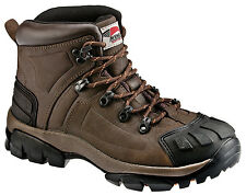 Avenger Mens Steel Toe EH Hiker M Crazy Horse Leather Safety Boots