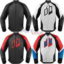 Icon Hypersport Jacket Long Sleeve Leather Vented