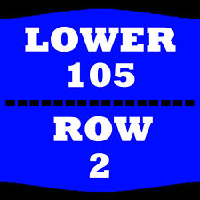 2 TIX THE COMEDY GET DOWN 2/18 LOWER 105 ROW 2 AMWAY CENTER ORLANDO