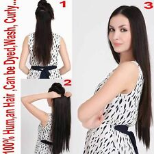 150g one piece 5 clips hair extension human hair one piece full head 150G newest