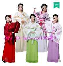 Chinese Women Ruqun Hanfu Suit Cosplay Long Sleeve Dress Tang Dynasty Costume