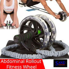 Abdominal Rollout Exercise Fitness Wheel