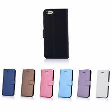 Leather Skin Case Cover Pouch Protector Kickstand For Apple iPhone 5S 5 3G 4G
