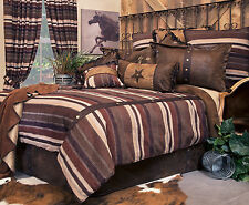 Old West Stripe 5 Piece Comforter Bedding Set with  Drapes Option- FREE SHIPPING