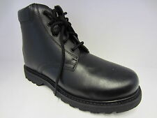 Mens Black Lace Up Boots 84732
