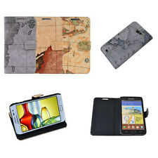 Antique World Map Leather Skin Case Cover For Samsung Galaxy Note N7000 N7005 4G