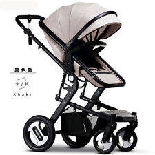 High landscape baby stroller sit/down shock absorber Folding travel pushchair