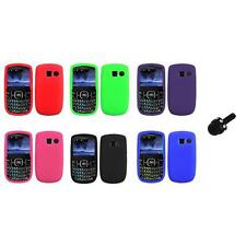Color Silicone Rubber Gel Case Cover+Mini Stylus for Pantech Link II 2 P5000