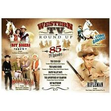 Western TV Round Up (DVD, 2012),  85 tv episodes .free shipping.