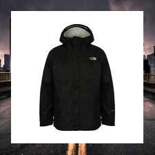 THE NORTH FACE MENS LIGHTWEIGHT VENTURE JACKET BLACK PEAKED HOODED COAT A9RYKX7