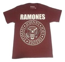 The Ramones Presidential Seal Maroon T-Shirt M-2XL Licensed & 100% Authentic