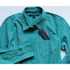 NWT Tommy Hilfiger Women's Long Sleeve Striped Shirt Size: M