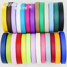 "10 meters/lot 3/8"" 10mm Grosgrain Ribbon gift wrap wedding decoration diy rubans"