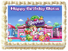 SHOPKINS Edible image Cake topper frosting sheets