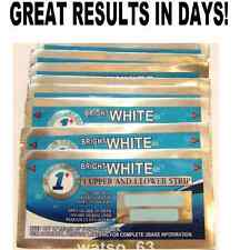 1 HOUR EXPRESS TEETH WHITENING STRIPS PROFESSIONAL QUALITY AUTHENTIC WHITENER