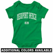 Newport Beach California One Piece - Baby Infant Creeper Romper NB-24M - Gift CA