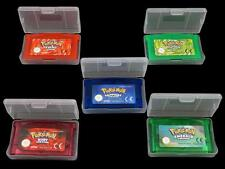 UK 5PCS Pokemon Cartridge Game Card Firered Emerald Ruby Leaf Green Sapphire Fun