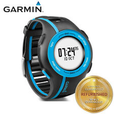 Garmin Forerunner 210 GPS Fitness GPS Sport Watch with Charging Cable Black/Blue
