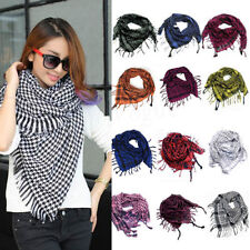 Unisex Women Men Winte Arab Shemagh Keffiyeh Palestine Scarf Shawl Wrap Fashion