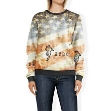 Firefighter Hero Grunge Sweatshirt Sweater XS-3XL