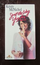 Just the Way You are vintage 80's comedy/music/romance vhs movie for sale!!!