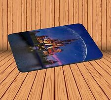 Mouse Pad For Gaming Anti-Slip With Night Disney Castle Firework Rubber Mousepad