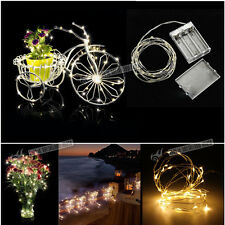 New 20-40 LED Fairy Micro Copper Wire String Lights Christmas Wedding Party Pub