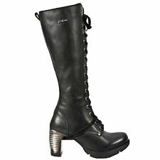 New Rock M.TR005-S1 Itali Trail Black Womens Boots