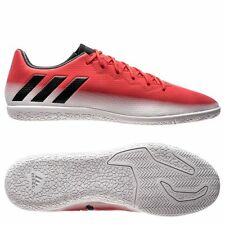 adidas 17.3 IN Messi 2017 Indoor Soccer Shoes Red - Black - White Brand New