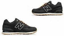 New Balance Men's Classic Suede ML574HRD Black/Gum Outdoor Boot Pack