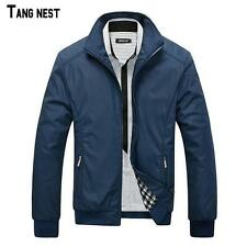 TANGNEST Men Jacket 2016 Hot Sale Spring Men's Solid Fashion Jacket Male Casual