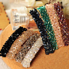 Elegant Womens Fashion Crystal Rhinestone Barrette Hairpin Clip Hair Accessories